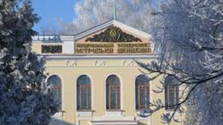 Школа універсального журналіста: засніжена Острозька академія - прекрасна